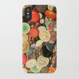 Push My Buttons iPhone Case
