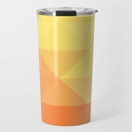 Geometric Sunset Travel Mug