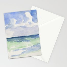 Ocean, Tulum, Mexico Stationery Cards