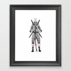 Dead Samurai  Framed Art Print