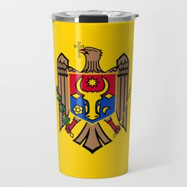 Moldova Flag Travel Mug