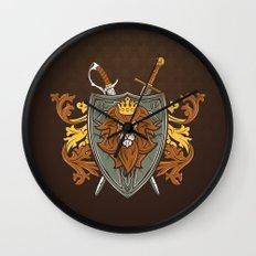 One True King Wall Clock