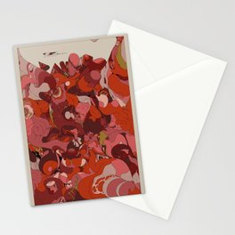 Organic Infographics - Lava Stationery Cards
