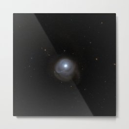 Hubble Space Telescope - A tale of galactic collisions Metal Print
