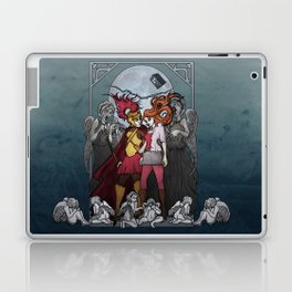 The Angels take the Ponds Laptop & iPad Skin
