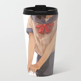 Sailor suit Metal Travel Mug