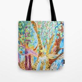 Colorful Rainforest Tote Bag