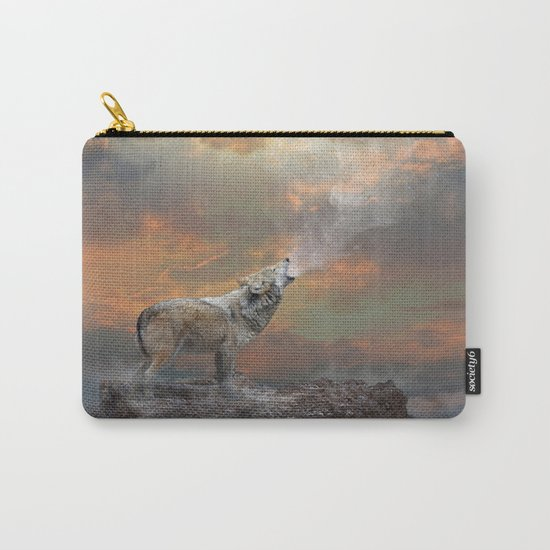 Climb Mountains Not So the World Can See Carry-All Pouch