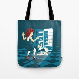 The midnight egg Tote Bag