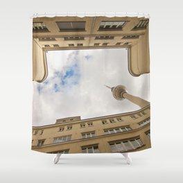 Hinterhof 84 Shower Curtain