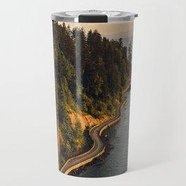 A Curvy Park - Vancouver, British Columbia, Canada Travel Mug