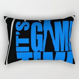 It's Game Time Rectangular Pillow