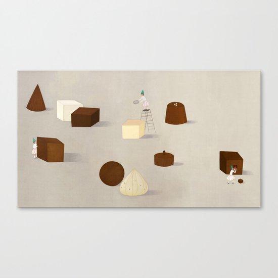 CHOCOLATE PHILOSOPHY Canvas Print