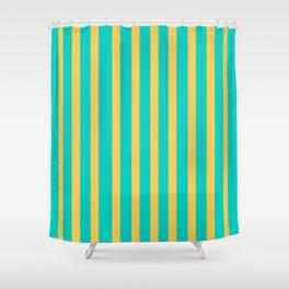 Vintage flavour colors Shower Curtain