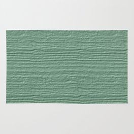 Grayed Jade Wood Grain Color Accent Rug