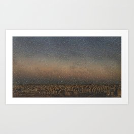 Amman city Art Print