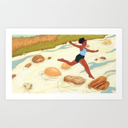 Outgrown Your Food Allergy? Art Print