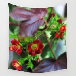 Little Flowers Wall Tapestry