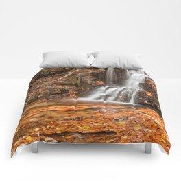 Orange Grove Waterfall Comforters