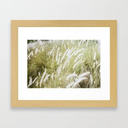 Wind in my Hair.  Framed Art Print