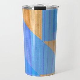 Blueberry Wooden Bead Travel Mug