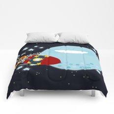 Le Voyage dans la Lune Comforters