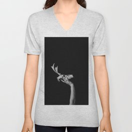 Deer II Unisex V-Neck