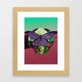 Butterfly Effects Framed Art Print