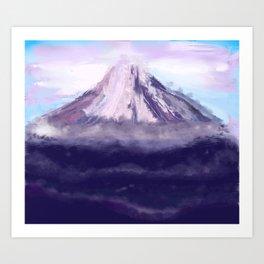 Volcanic Dreams Art Print