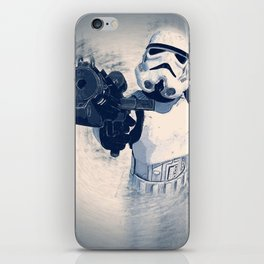 White trooper iPhone Skin