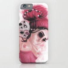 Red Coloured Dreams iPhone 6s Slim Case