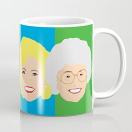 The Golden Girls - Pop Art Style Coffee Mug