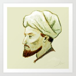AVICENNA Art Print
