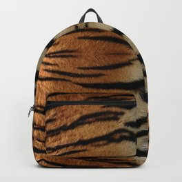Tiger Stripes Pattern Backpack