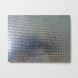 Shiny (Faux) Leather Metal Print