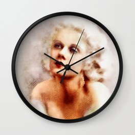 Jean Harlow, Hollywood Legend Wall Clock