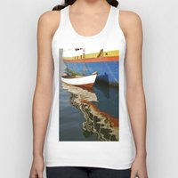water colour Tank Tops featuring Water Colour by David Jessamy