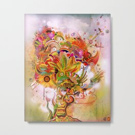 Botanical Dimensions Metal Print