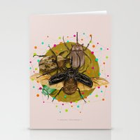 insect Stationery Cards featuring Insect Universe by dogooder