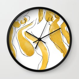 Study for The Dance Matisse Wall Clock