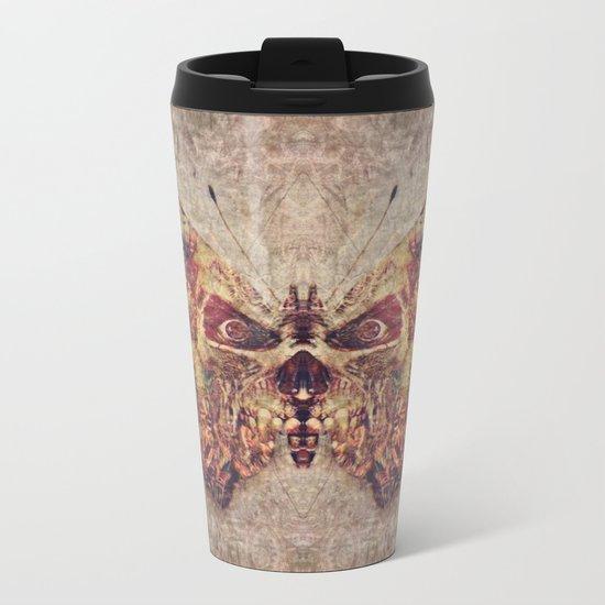 Butterfly I Metal Travel Mug