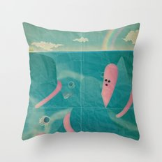 l ' i s o l a c h e n o n c ' è Throw Pillow
