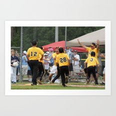 Little League 2012 State Championship Art Print