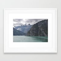 alaska Framed Art Prints featuring Alaska by Tasha Marie