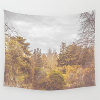 once upon a  time Wall Tapestries featuring Once Upon a Time by Rafael Igualada