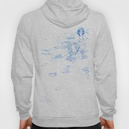 Jellyfish Beach (line) Hoody