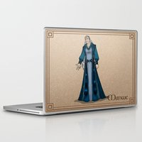 valar morghulis Laptop & iPad Skins featuring Manwe by wolfanita