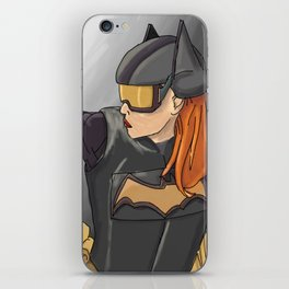 Batgirl iPhone Skin