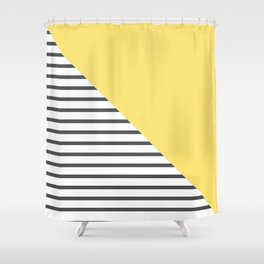 dismantled pattern Shower Curtain