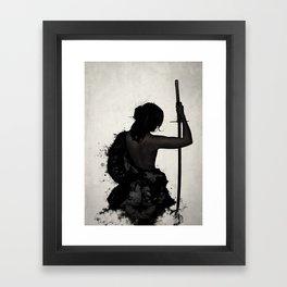 Female Samurai - Onna Bugeisha Framed Art Print